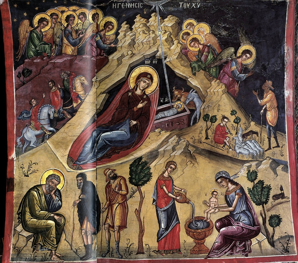 ГЕNNHCIC TOV XPICTV (Генесис Ту Христу) - Рождение Христа
