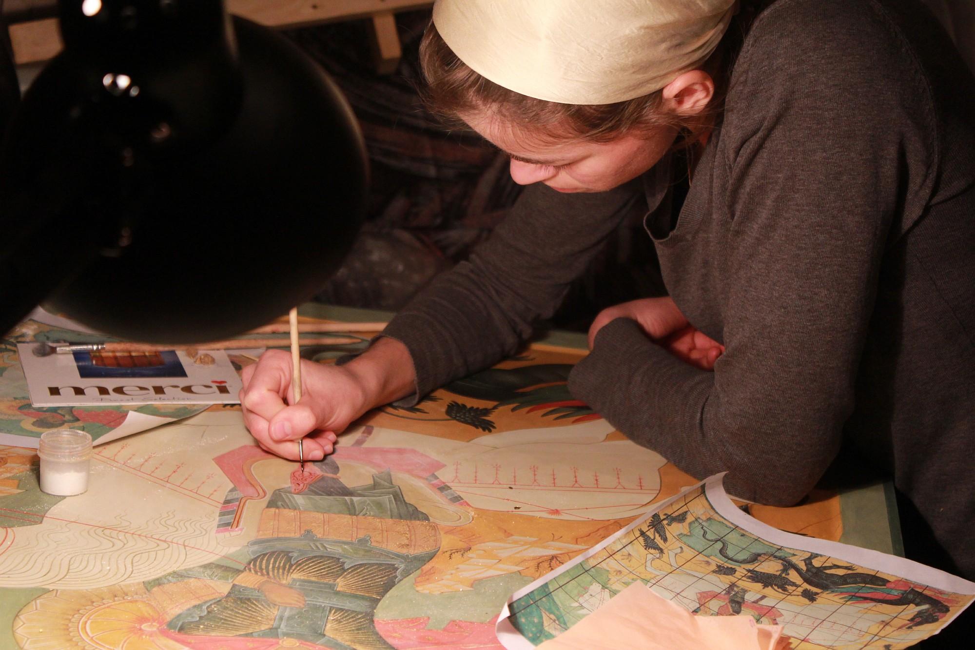 Старообрядческая иконописная мастерская