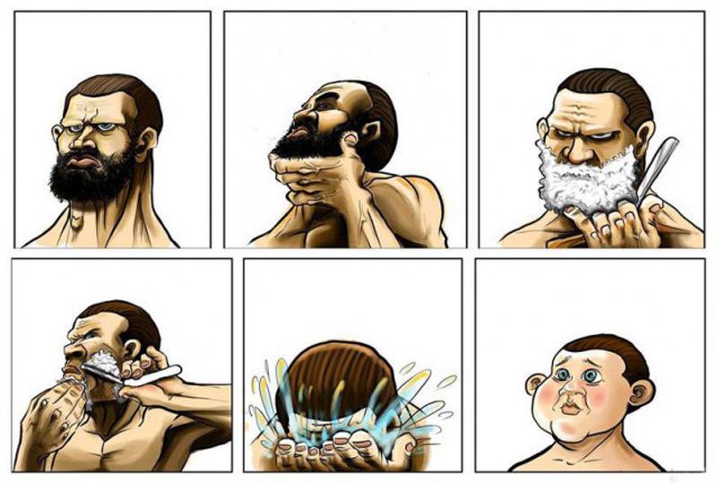 Борода образ мужа 3