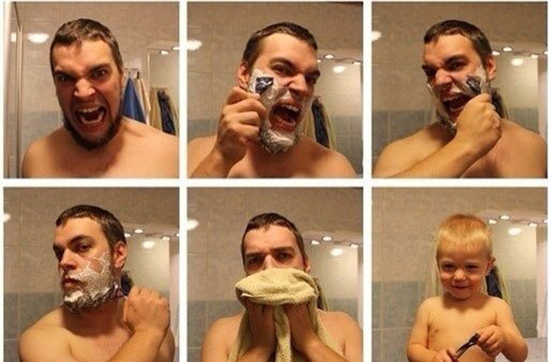 Борода образ мужа