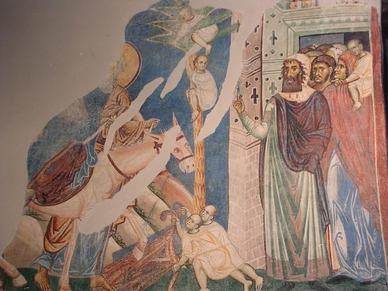 Вход Господень во Иеросалим. Церковь Св. Пантелеймона. Город Нерези. 1164г
