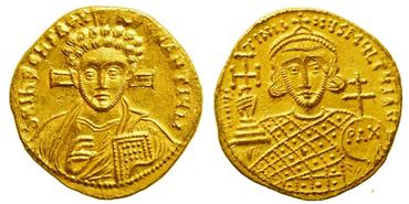 Христианские монеты с изображением святых