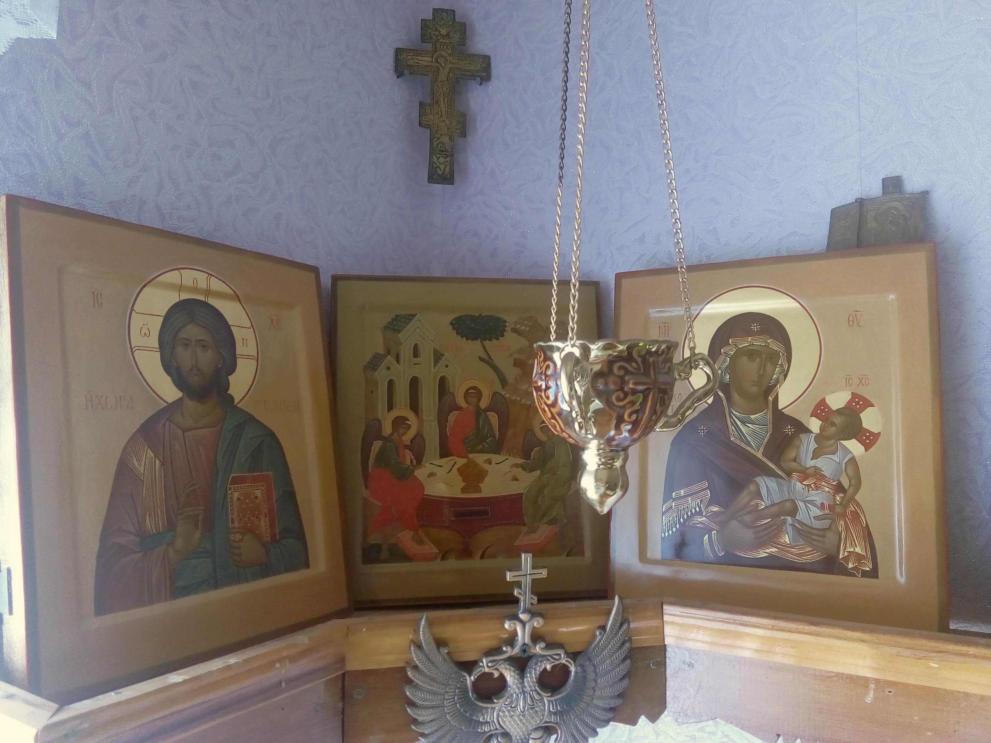 Домашний иконостас из 3 икон