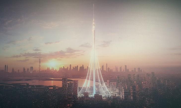 башня «Дубай- Крик- Харбор»