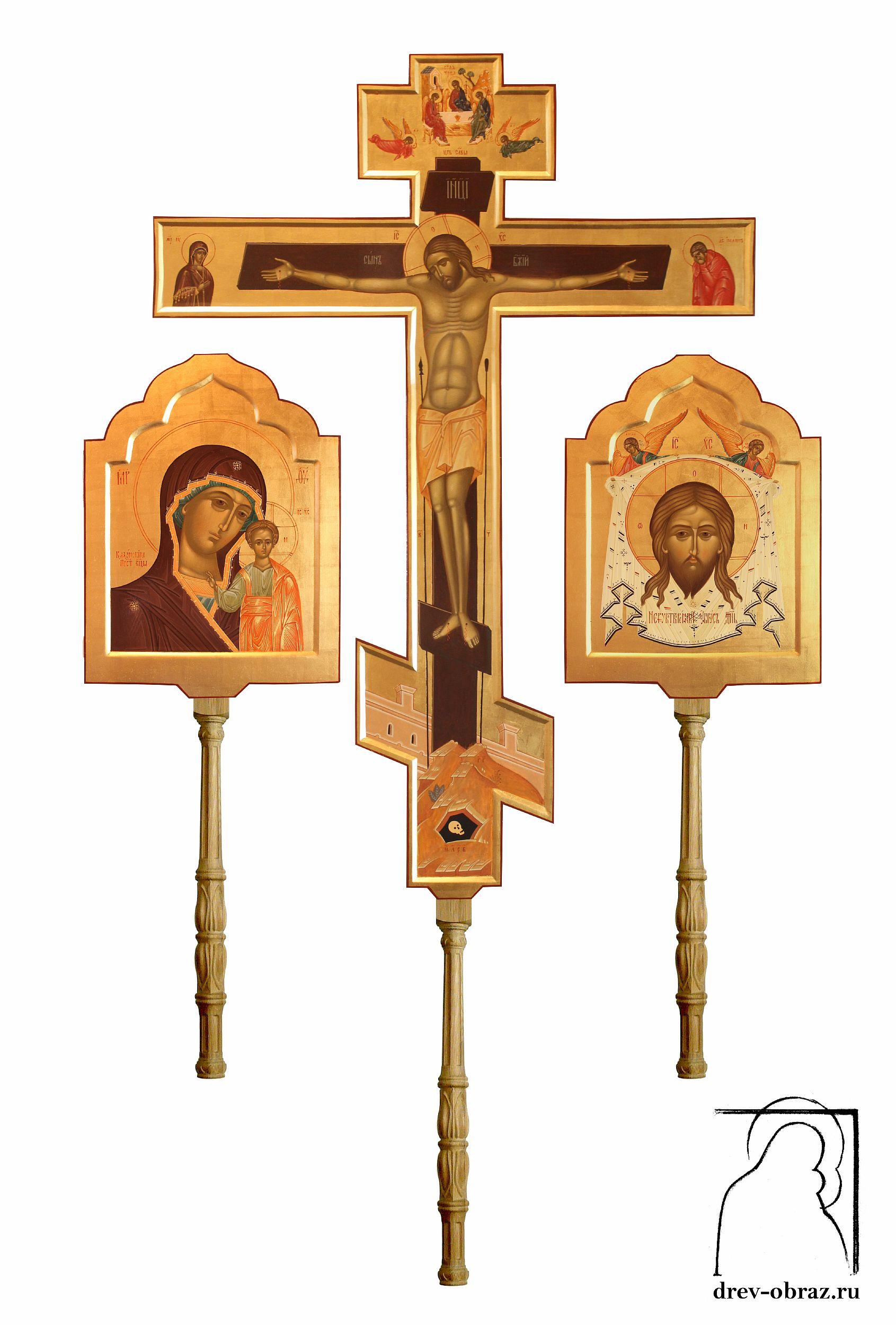 Заказать крест и иконы