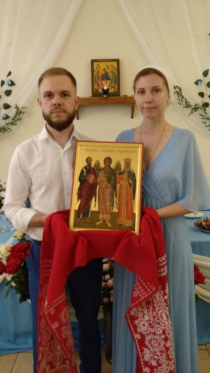 икона для венчания