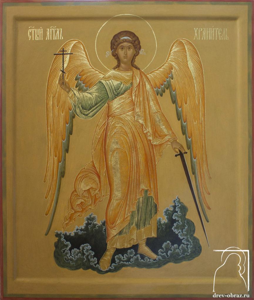 Купить писанную икону Ангела Хранителя