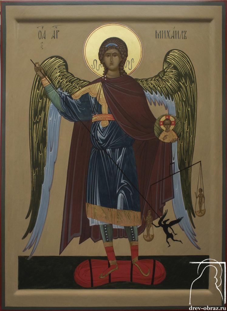 Купить писанную икону Архангела Михаила