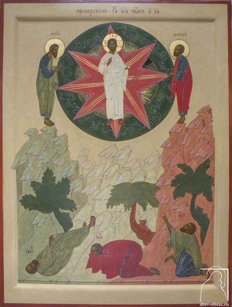 Купить писанную икону Преображения Господня