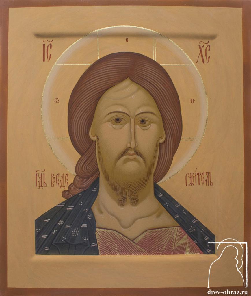Купить писанную икону Спасителя Исуса Христа