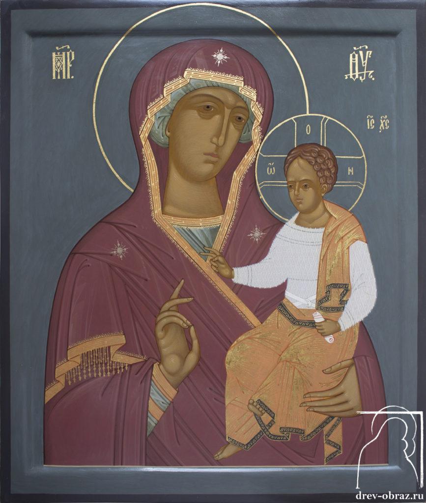 Купить писанную седмиезерскую икону Божией Матери